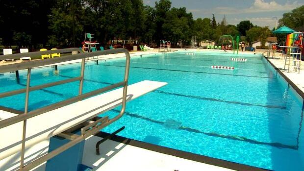 St Vital Swimming Pool Reopens Cbc News