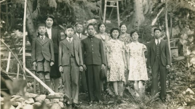 One of Eikichi Kagetsu's pre-war family photos. Kagetsu's property, worth $8 million in today's dollars, was forcibly seized by the Canadian government during World War II.