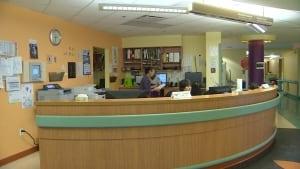 Nursing station at Qikiqtani General Hospital