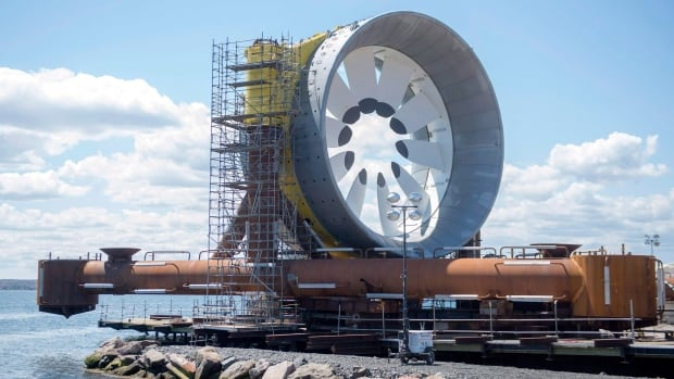 OpenHydro will remove its demonstration turbine from the Bay of Fundy later this month for repairs and modifications to some of the monitoring equipment on the device.