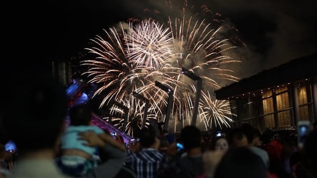 Vancouver Canada Day fireworks 2016