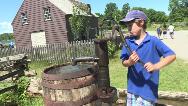 Ethan Barton, 9, was one of the first children to experience Upper Canada Village's new programming for kids with autism.
