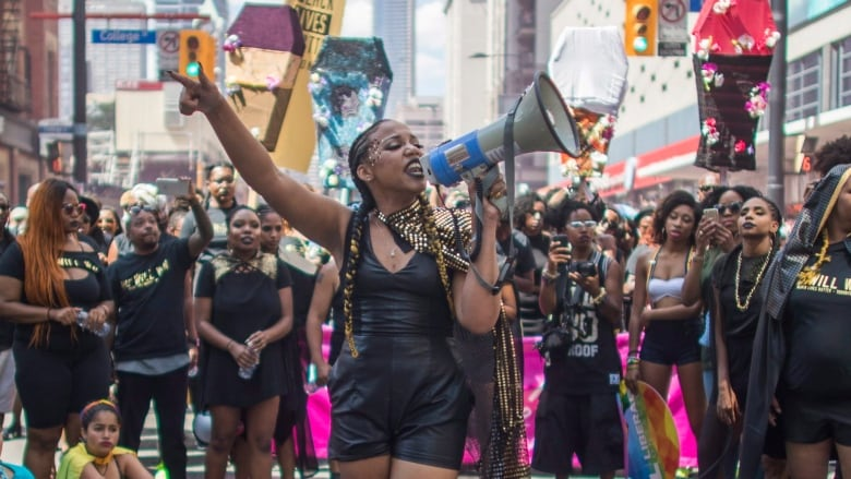 Toronto Pride Parade Black Lives Matter