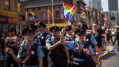 Toronto Pride Parade Hamilton police