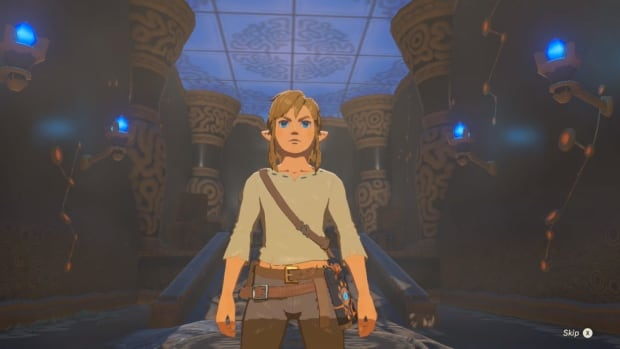 Video game hero Link appears in The Legend of Zelda: Breath of the Wild at Nintendo's live stream during the Electronic Entertainment Expo in June.