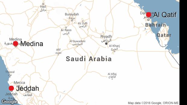 Saudi triple attacks