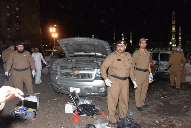 MIDEAST SAUDI ARABIA MEDINA BOMB BLAST