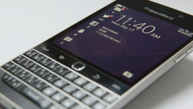 The Classic model, which BlackBerry brought out in 2014, is being phased out of its smartphone lineup, the company said Tuesday.
