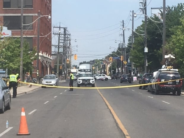 cyclist killed on Dupont Street