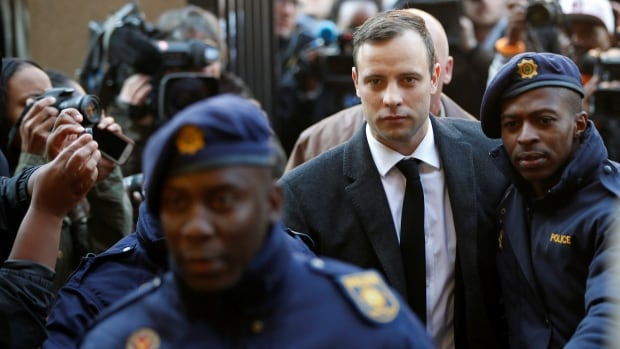 South Africa's Supreme Court of Appeal more than doubled the prison sentence for Olympic and Paralympic track star Oscar Pistorius to 13 years and 5 months from six years for the murder of his girlfriend Reeva Steenkamp.