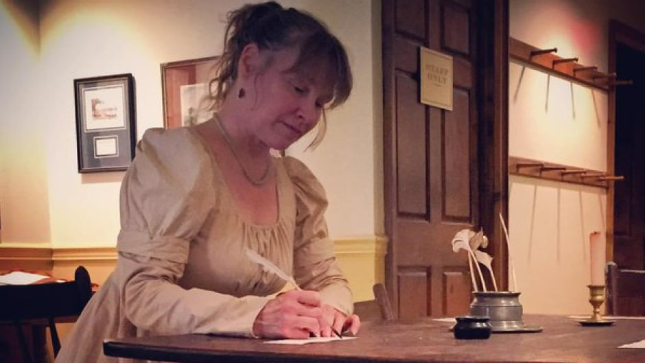 Karen Millyard keeps the world of Jane Austen's novels alive by organizing themed suppers and dances.