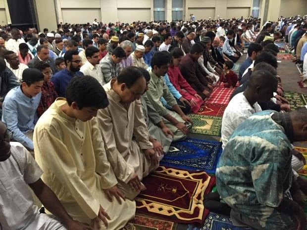 Eid prayer Winnipeg