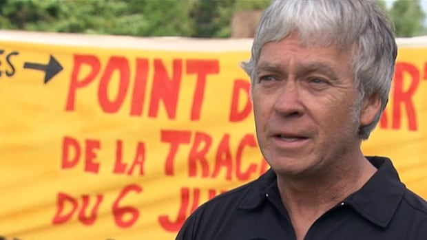 Robert Bellefleur, spokesman for the Lac-Mégantic citizens' coalition for rail safety, says the federal and provincial governments need to do more to improve safety in the town.