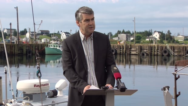 Premier Stephen McNeil announced the government plans to invest $2.8 million in the aquaculture sector to create jobs in Nova Scotia.