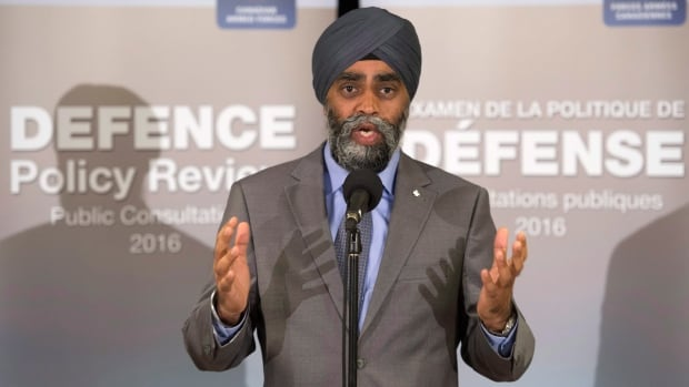 Defence Minister Harjit Sajjan says Canada's aging fighter jets need to be replaced soon but there's no timeline at present for when and how that's going to happen.