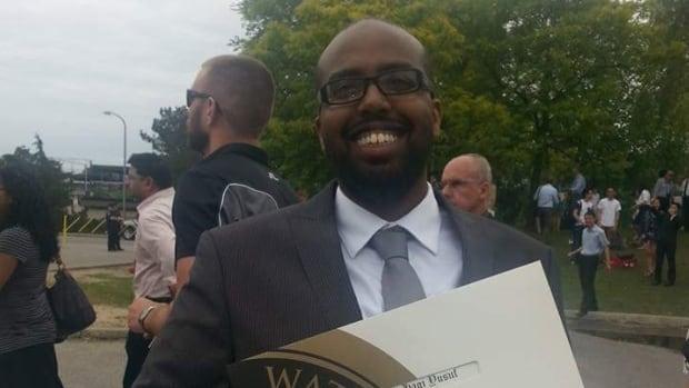 Jama Hagi-Yusuf graduated from the University of Waterloo in 2015.