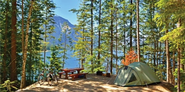 Discover camping reservations system