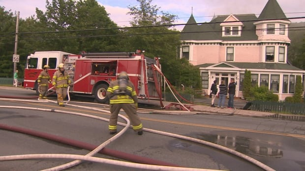 Waterford Manor fire