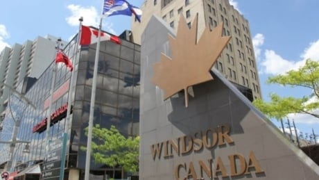 Windsor Sign Stock