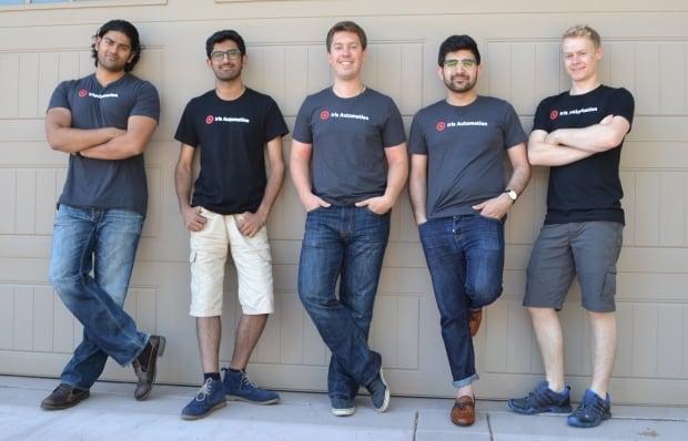 Iris Automation R&D team
