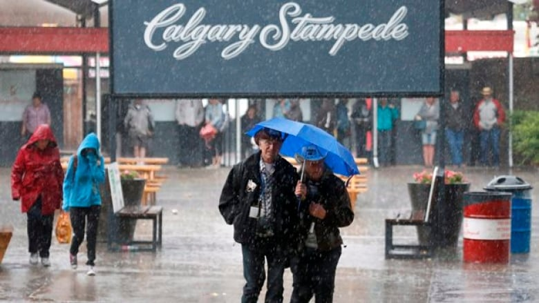 Calgary Exceeds Average Rainfall Halfway Through July