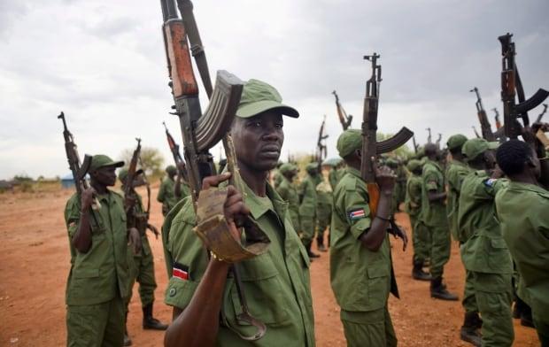 APTOPIX South Sudan Rebels Return