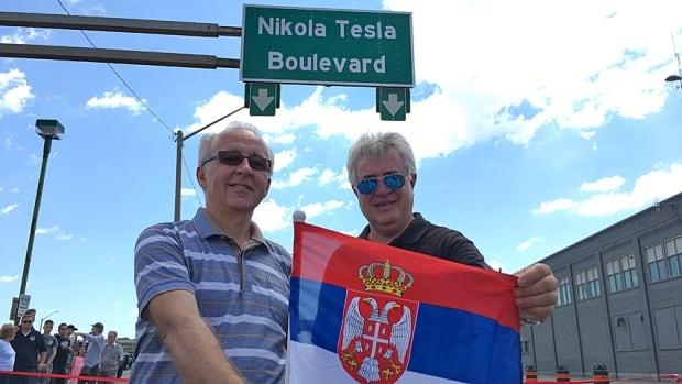 Sasha Radovanovic and Vladimir Vicic