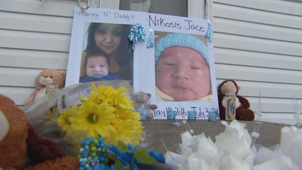 A sentencing hearing is now underway to determine whether the teen girl who confessed to killing six-week-old Nikosis Cantre should be sentenced as a youth or an adult.