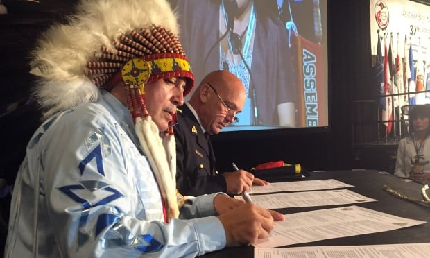 Bellegarde and Paulson AFN general assembly