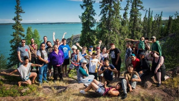 Young men from across the territory recently gathered at Blachford Lake Lodge on Great Slave Lake for the first ever SMASH peer leader retreat.