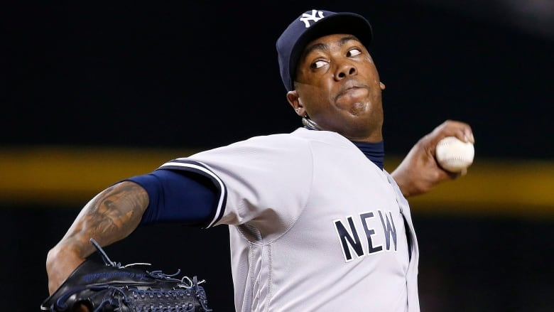 cda967e28a5 New York Yankees  Aroldis Chapman is one of the biggest names expected to  be available ahead of the MLB trade deadline. (Ross D. Franklin The  Associated ...