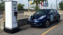 Toronto electric car charging