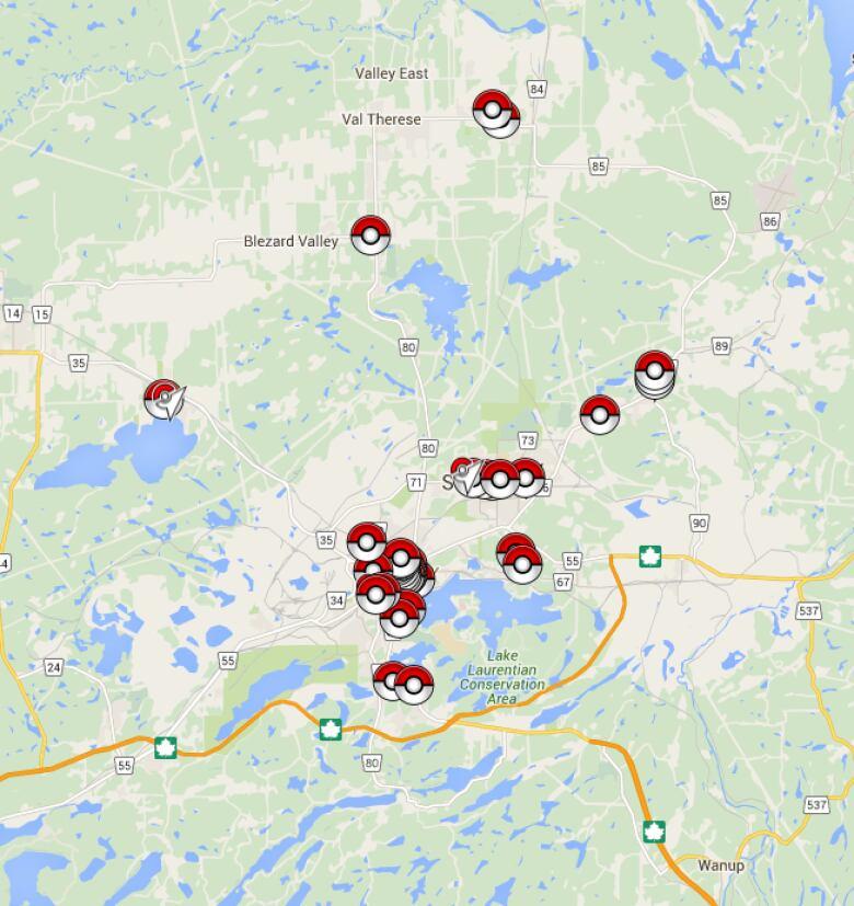 Pokemon Go players hit Sudbury streets | CBC News