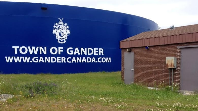Town of Gander water reservoir