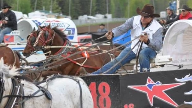Changes to the chuckwagon track are making this year's event safer, says driver Mark Sutherland.