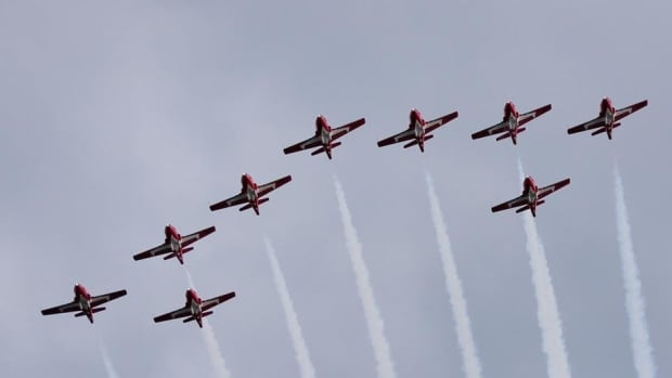 Canadian Forces Snowbirds are scheduled to fly at the first Windsor airshow in years.