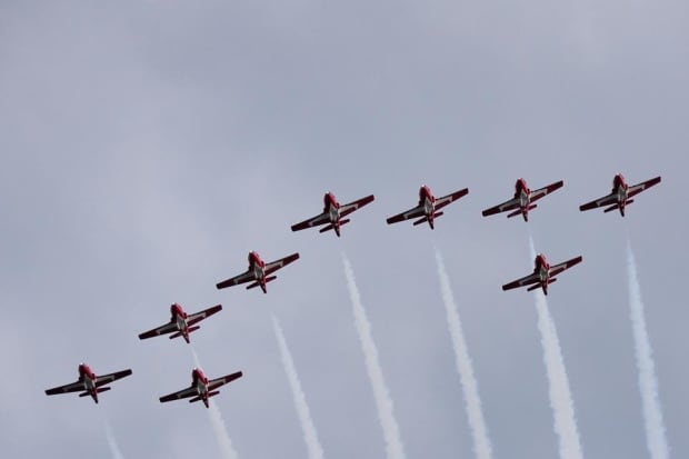 Snowbirds cite need for additional training, cancel airshow appearances