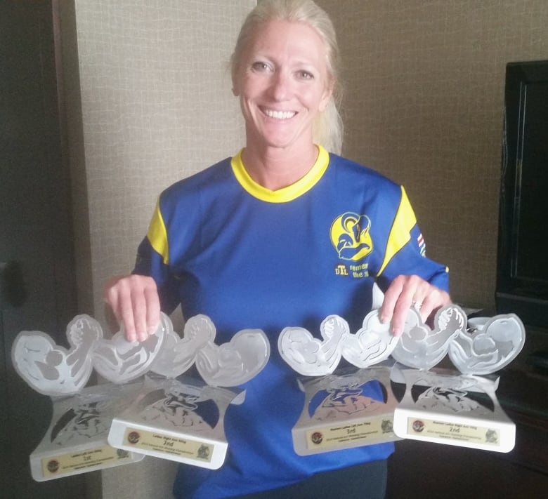 Alberta S Stacey Foster Won A Gold And Silver Trophy With