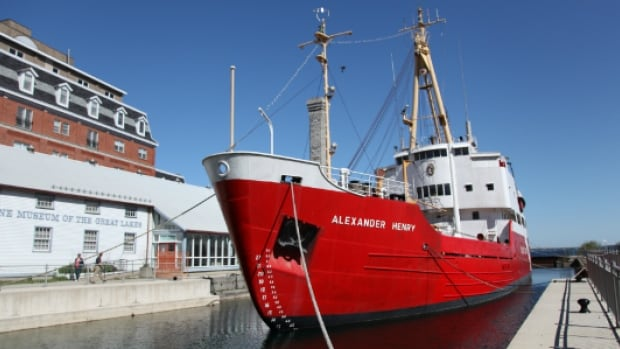 The Alexander Henry is set to be towed back to Thunder Bay to be put on display, after city council voted to spend $125,000 on the venture.