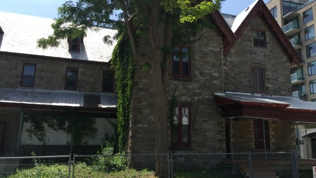Ashcroft Homes has taken steps to keep the two-storey stone house that is part of the former Westboro convent from further deteriorating.