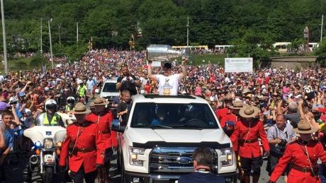 Sidney Crosby parade