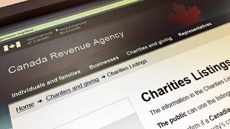 Canada Revenue Agency charities CBC