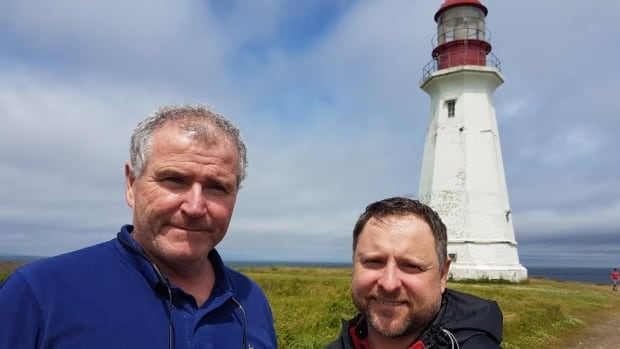 Lawrence MacSween and Rob Murphy say the Low Point Lighthouse Society is planning big things for the entire site.