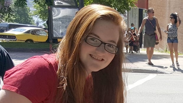 Kelci Adams, 14, of Saint John