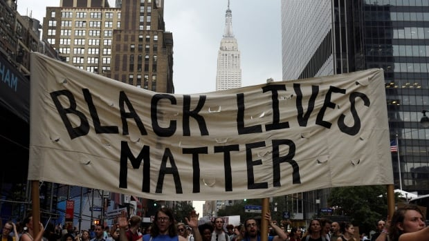 "Supporters of Black Lives Matter say ""all lives matter""  misses the point when it comes to addressing the systematic racism and discrimination experienced by black people."