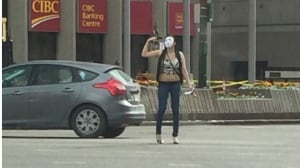 Teen who waved gun at Portage and Main has 'done remarkably well' in recovery, court hears