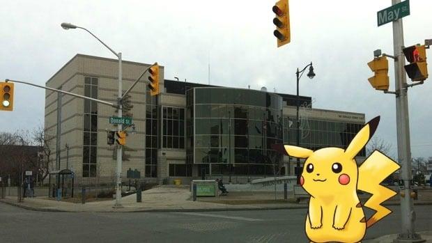 Pokemon Go in Thunder Bay, Ont