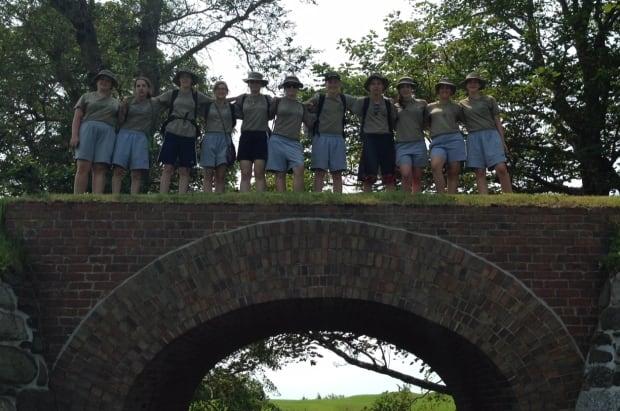 Faith-Ann Warford and the cadets