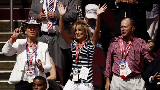 """2016's Republican National Convention delegates are bold, proud, and, for the most part, embody everything the online world has come to love about """"white people dancing."""""""