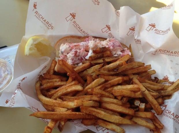 Richard's Lobster roll